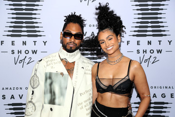 Miguel Nazanin Mandi Rihanna's Savage X Fenty Show Vol. 2 presented by Amazon Prime Vide – Step and Repeat
