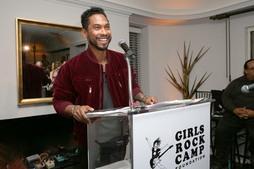Miguel First Annual 'Girls To The Front' Event Benefiting Girls Rock Camp Foundation