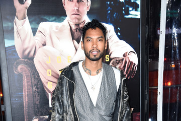 Miguel Premiere Of Warner Bros. Pictures' 'Live By Night' - Arrivals