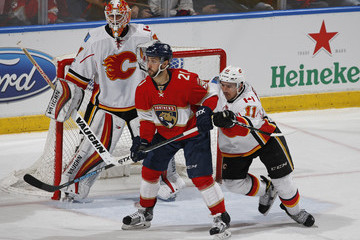 Mikael Backlund Calgary Flames v Florida Panthers
