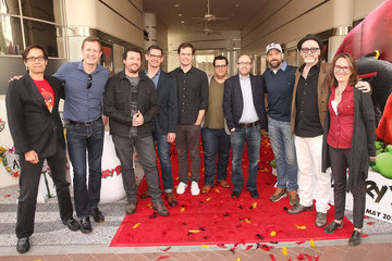 Mikael Hed Angry Birds Cast Photo Call with Jason Sudeikis, Josh Gad, Danny McBride and Bill Hader