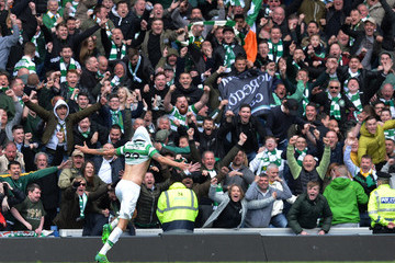 Mikael Lustig Rangers v Celtic - Ladbrokes Scottish Premiership