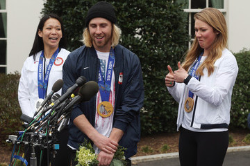 Mikaela Shiffrin The Obamas Welcome Olympians and Paralympians