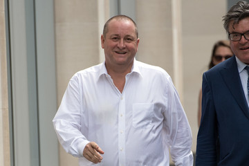Mike Ashley Sports Direct Boss Mike Ashley Attends High Court Over Alleged £15m Banker Deal