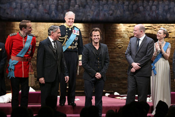 Mike Bartlett 'King Charles III' Broadway Opening Night - Arrivals and Curtain Call