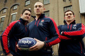 Mike Brown Alex Goode Launch of the new O2 Touch Campaign