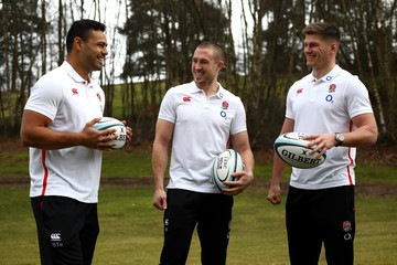 Mike Brown Owen Farrell Dove Men+Care England Rugby Player Appearance