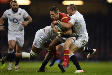 Mike Brown Wales v England - RBS Six Nations
