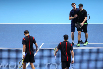 Mike Bryan Jamie Murray Barclays ATP World Tour Finals - Day Five