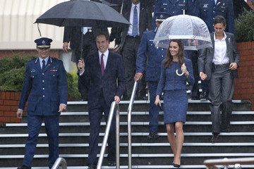 Mike Bush The Royal Couple Visit the New Zealand Police College