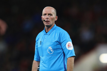 Mike Dean AFC Bournemouth vs. Crystal Palace - Premier League