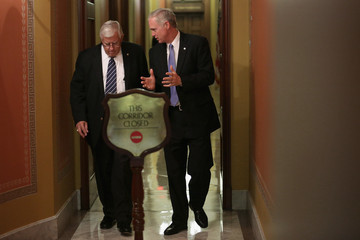 Mike Enzi Congress Meets as Government Shutdown Looms