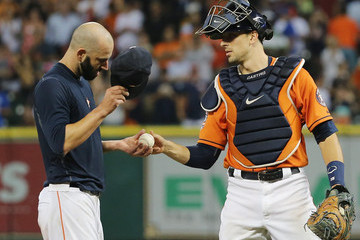 Mike Fiers Los Angeles Dodgers v Houston Astros