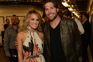 Mike Fisher Carrie Underwood 2014 CMT Music Awards - Backstage & Audience