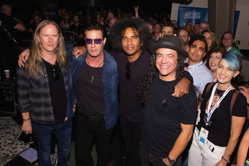 Mike Inez Alice In Chains Performs For SiriusXM's Lithium Channel At The Space Needle In Seattle