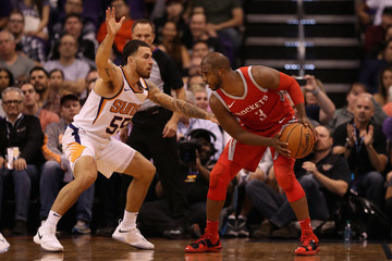 Mike James Houston Rockets v Phoenix Suns