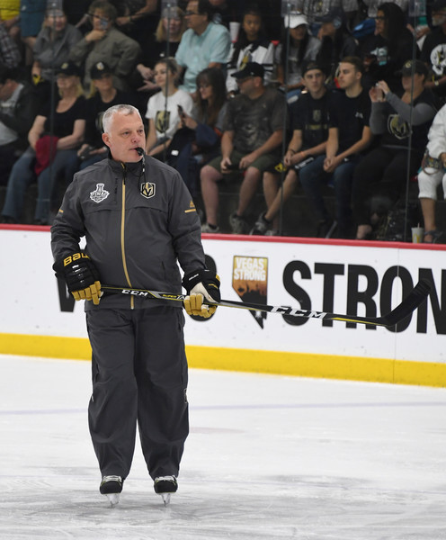 Vegas Golden Knights Hold First Practice Since Winning Western Conference Finals []