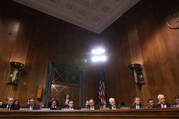 Mike Lee Senate Judiciary Committee Holds Vote On Brett Kavanaugh Nomination