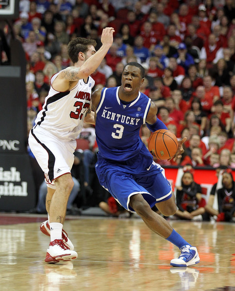 Mike Marra and Terrence Jones - Kentucky v Louisville