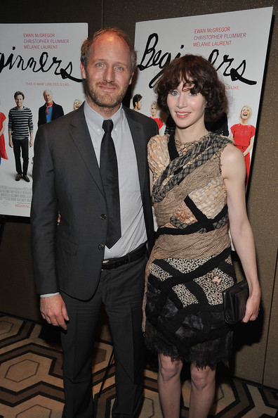 Miranda July with cool, Husband Mike Mills