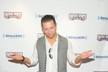Mike Mizanin SiriusXM Celebrity Fantasy Football Draft