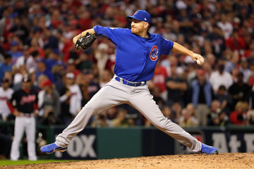 Mike Montgomery World Series - Chicago Cubs v Cleveland Indians - Game Six
