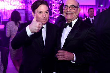 Mike Myers Inside the Elton John AIDS Foundation Oscars Viewing Party — Part 2