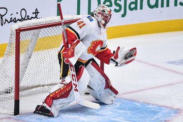 Mike Smith Calgary Flames vs. Montreal Canadiens