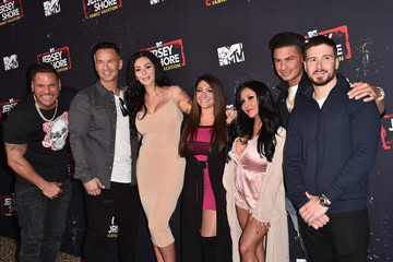 Mike Sorrentino Nicole Polizzi Premiere Of MTV Network's 'Jersey Shore Family Vacation' - Arrivals