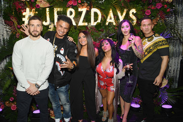 Mike Sorrentino Nicole Polizzi MTV's 'Jersey Shore Family Vacation' New York Premiere Party