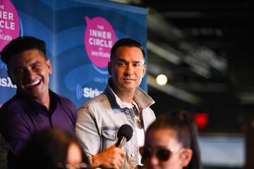 Mike Sorrentino Paul DelVecchio Jenny McCarthy's 'Inner Circle' Series On Her SiriusXM Show 'The Jenny McCarthy Show' With The Cast Of MTV's Jersey Shore Family Reunion Part 2