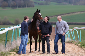 Mike Tindall Michael Scudamore Stable Visit