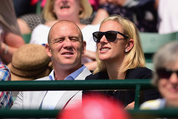 Mike Tindall Day Nine: The Championships - Wimbledon 2015