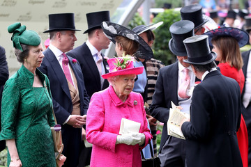 Mike Tindall Royal Ascot 2017 - Day 3 - Ladies Day