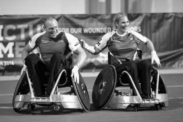 Mike Tindall Prince Harry's Invictus Games