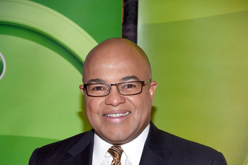 Mike Tirico NBCUniversal Press Junket