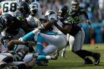 Mike Tolbert Divisional Round - Seattle Seahawks v Carolina Panthers