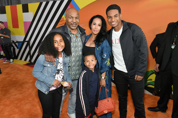 Mike Tyson Morocco Tyson Nickelodeon's 2018 Kids' Choice Awards - Red Carpet