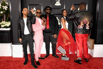 Mike WiLL Made It Swae Lee The 59th GRAMMY Awards - Arrivals