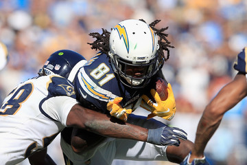 Mike Williams Los Angeles Chargers vs. Los Angeles Rams