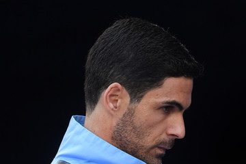 Mikel Arteta Manchester City vs. Brighton & Hove Albion - Premier League