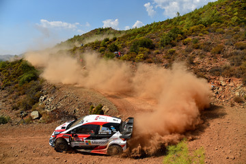 Mikka Anttila FIA World Rally Championship Turkey - Day One
