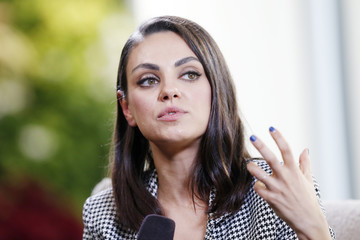 Mila Kunis Mila Kunis Speaks At Salesforce For UN Human Rights Day