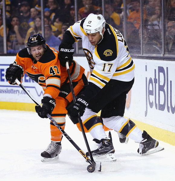 Milan Lucic And Andrew MacDonald Photos Photos