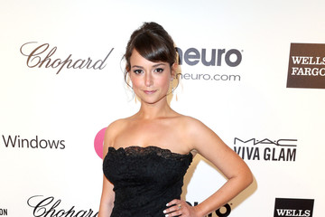 Milana Vayntrub Elton John AIDS Foundation Oscar Viewing Party — Part 6