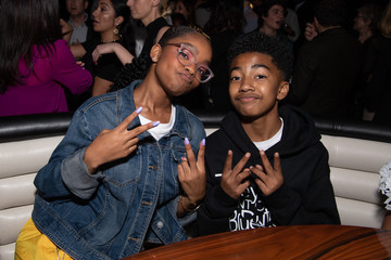 Miles Brown Marsai Martin The Premiere Of Universal Pictures 'Little' - After Party