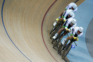 Miles Scotson UCI Track Cycling World Championships: Day 2