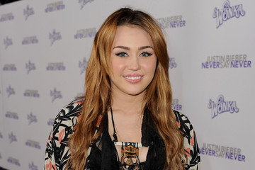 Miley Cyrus Premiere Of Paramount Pictures'