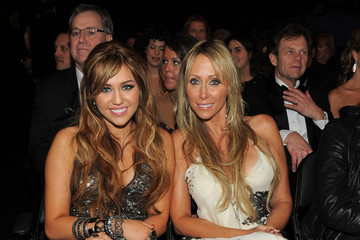 Miley Cyrus The 53rd Annual GRAMMY Awards - Roaming Inside