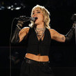 Miley Cyrus Miley Cyrus Performs A Tribute To Frontline Heroes At The 2021 NCAA Final Four